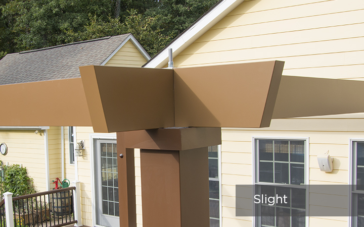 Trex Pergola Vision Slight End Detail