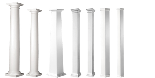 Fiberglass Column Profiles for Trex Pergola