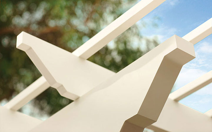 Trex Pergola Kit Close Up