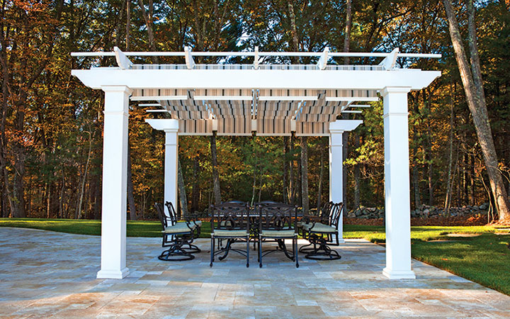- Low Maintenance Engineered Pergola Kits By Trex