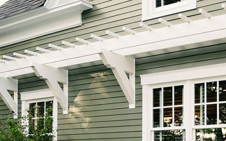 Low Maintenance Easy To Install Wall Pergola Kits By Trex