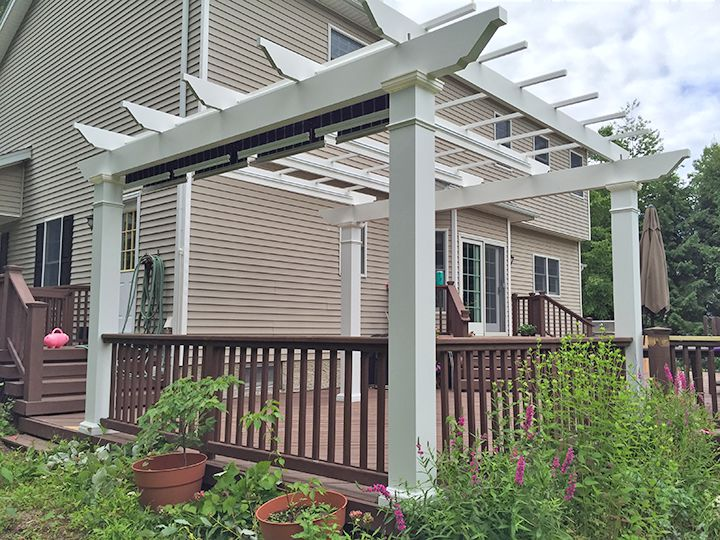 Low Maintenance Pergolas Pergola Kits In New York