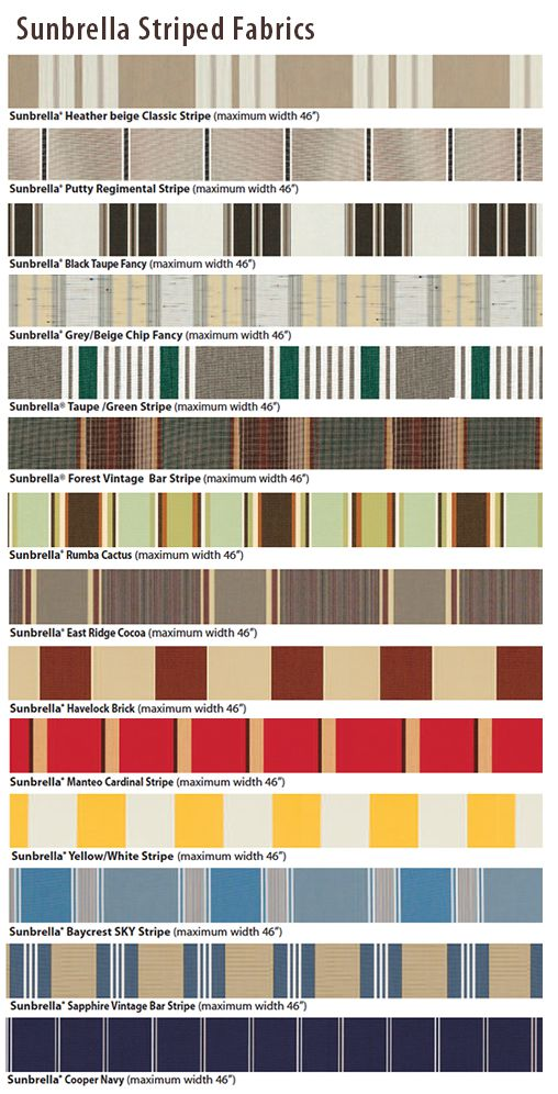 sunbrella-striped-fabrics