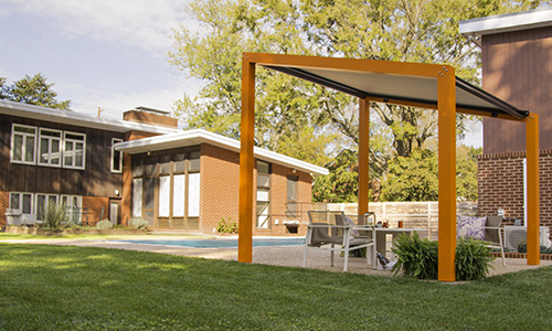 Trex Decking Colors >> Trex Pergola Debuts Modern Outdoor Structure Kits