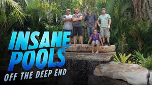 Insane Pools Season 2 with Lucas Congdon and Crew on Animal Planet in Alabama
