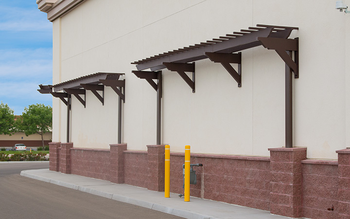 CVS Pharmacy Wall Pergolas