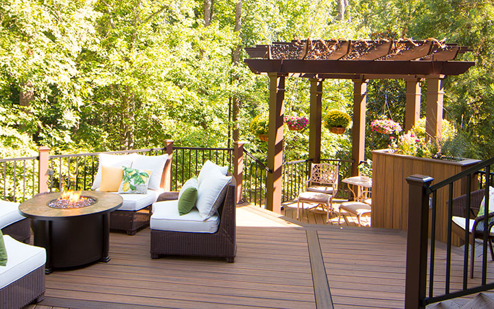 Custom Pergola Kits by Trex | Pergola Design Ideas