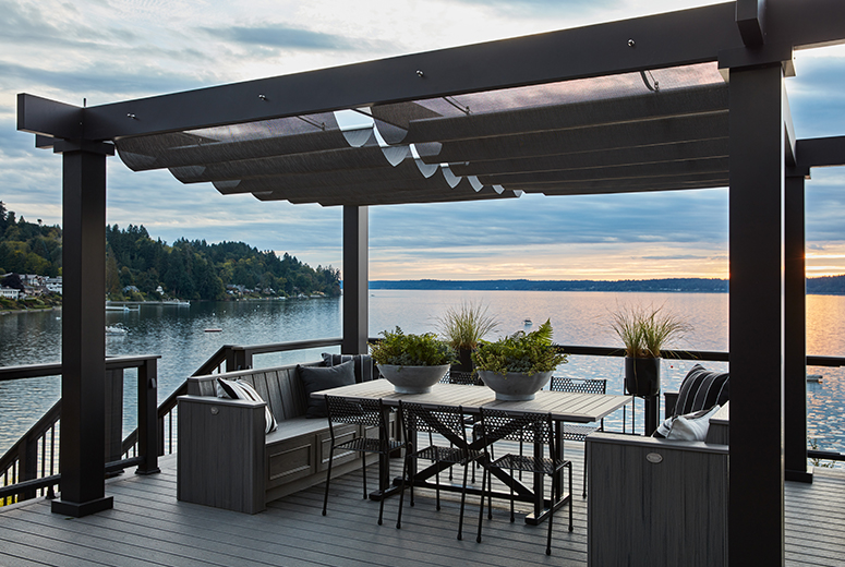 Trex Pergola Kit on HGTV Dream Home 2018 Lakefront Home with Trex Furniture Sweepstakes